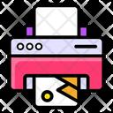 Printer Printing Machine Typographer Icon