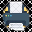 Printer Printing Machine Typesetter Icon