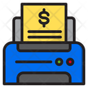 Printer Document File Icon