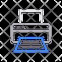 Printer Print Paper Icon