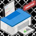 Laser Printer Printer Typesetter Icon
