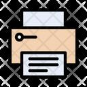Printer Document Print Icon