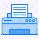 Printer Printing Machine Hardware Icon