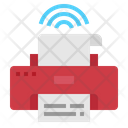 Printer Smart Wifi Icon
