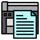 File Paper Copy Machine Icon