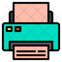 Paper Print Printer Icon