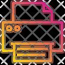 Document Office Print Icon