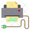 Printer Home Appliances Electric Icon