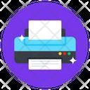 Printing Machine Printer Electronic Printer Icon