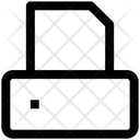 Printer Paper Device Icon