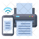 Printer Smart Printing Icon