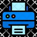 Printer Plotter Print Icon