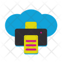 Printer Connection Web Icon