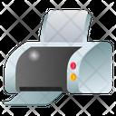 Printing Machine Printer Photocopier Icon