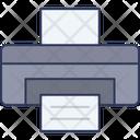 Printer Printing Fax Icon