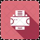 Printer Device Press Icon