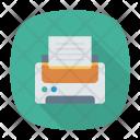 Printer Fax Output Icon