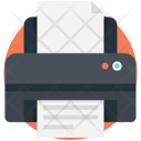 Printer Typographer Printing Icon