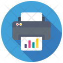 Office Printer Business Icon