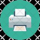 Printer Laser Printing Icon