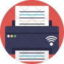 Online Fax Network Icon