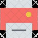 Printer Inkjet Printing Icon