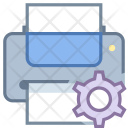 Printer maintenance Icon