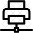 Printer Paper Technology Icon