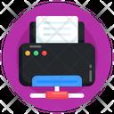 Printer Network Shared Printer Shared Inkjet Icon