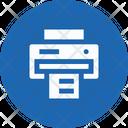 Printer Print Copy Icon