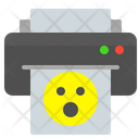 Printer smile Icon