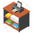 Printer Table Icon
