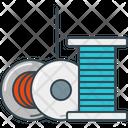 Printing Filament Icon