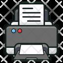 Printing Machine Icon