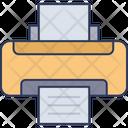 Printing Machine Fax Machine Printer Icon