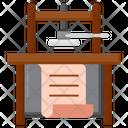 Printing Press Icon