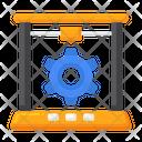 Printing Process Icon