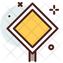 Priority Signboard Icon