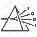 Prism Decomposition Distribute Icon