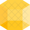 Hexagonal Prism Shapes Icon