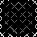 Pentagonal Prism Shape Icon