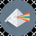 Physics Prism Angle Icon