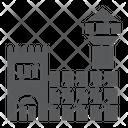 Prison Cell Arrest Icon