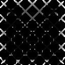 Criminal Jail Prison Lockup Icon