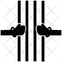 Inmate Detainee Grip Icon