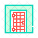 Prison Cell Door Icon
