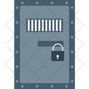 Jail Correctional Facility Prison Cell Icon