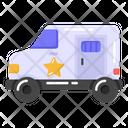 Jail Van Prison Van Police Van Icon
