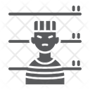 Prisoner Criminal Jail Icon