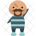 Prisoner Man Avatar Icon